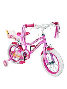 silverfox-sprinkles-14-inch-girls-bike-pink