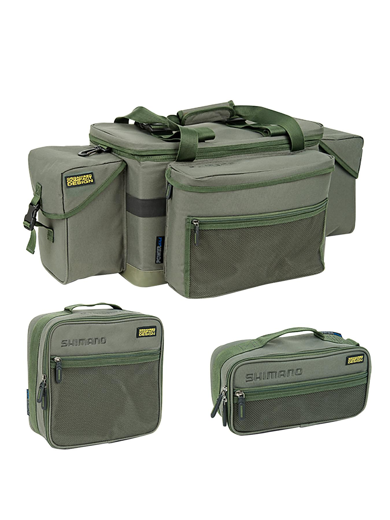 Shimano Olive Compact Loaded Carryall