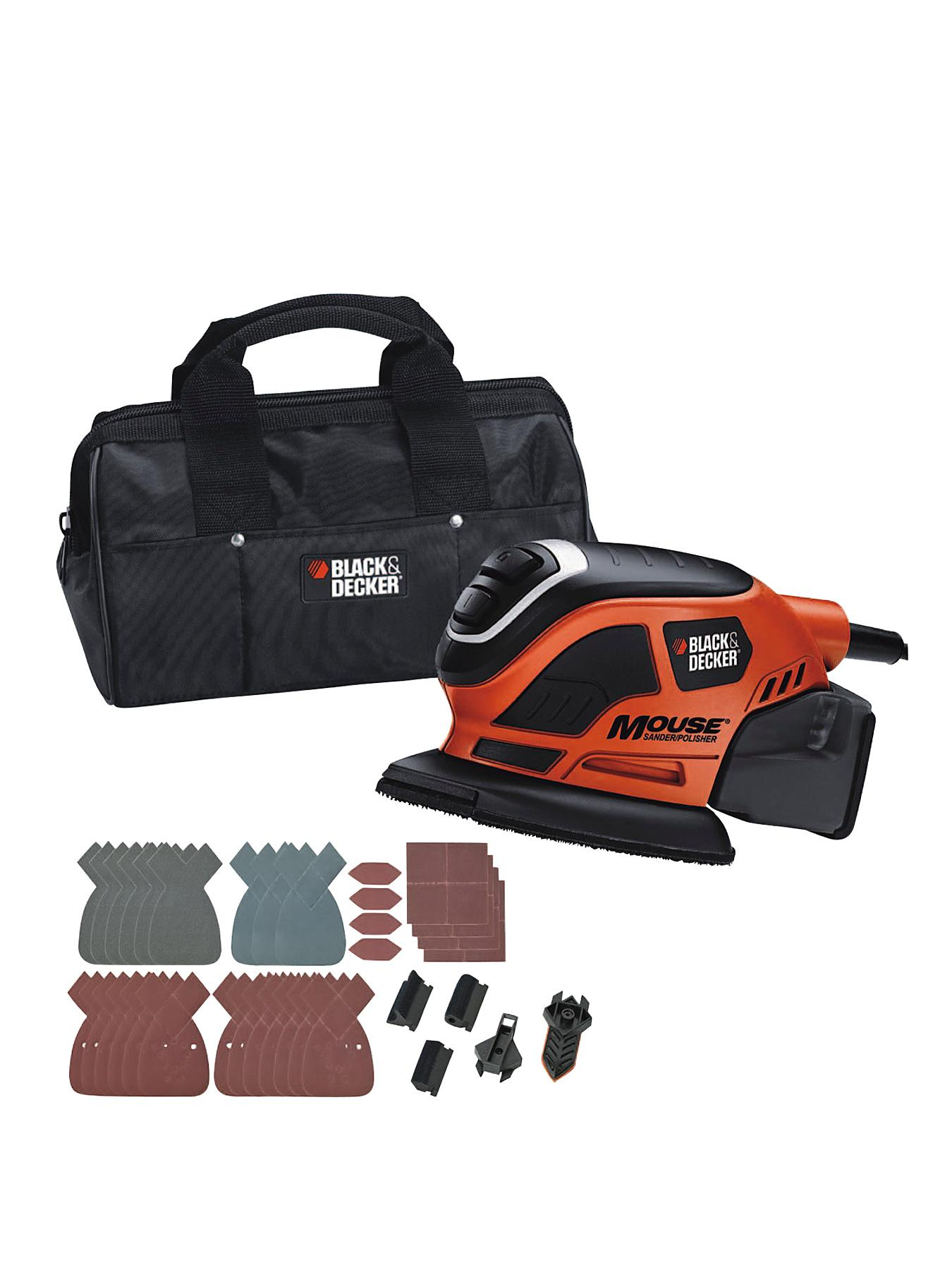 Black & Decker Mouse Detail Sander plus 22 Accessories