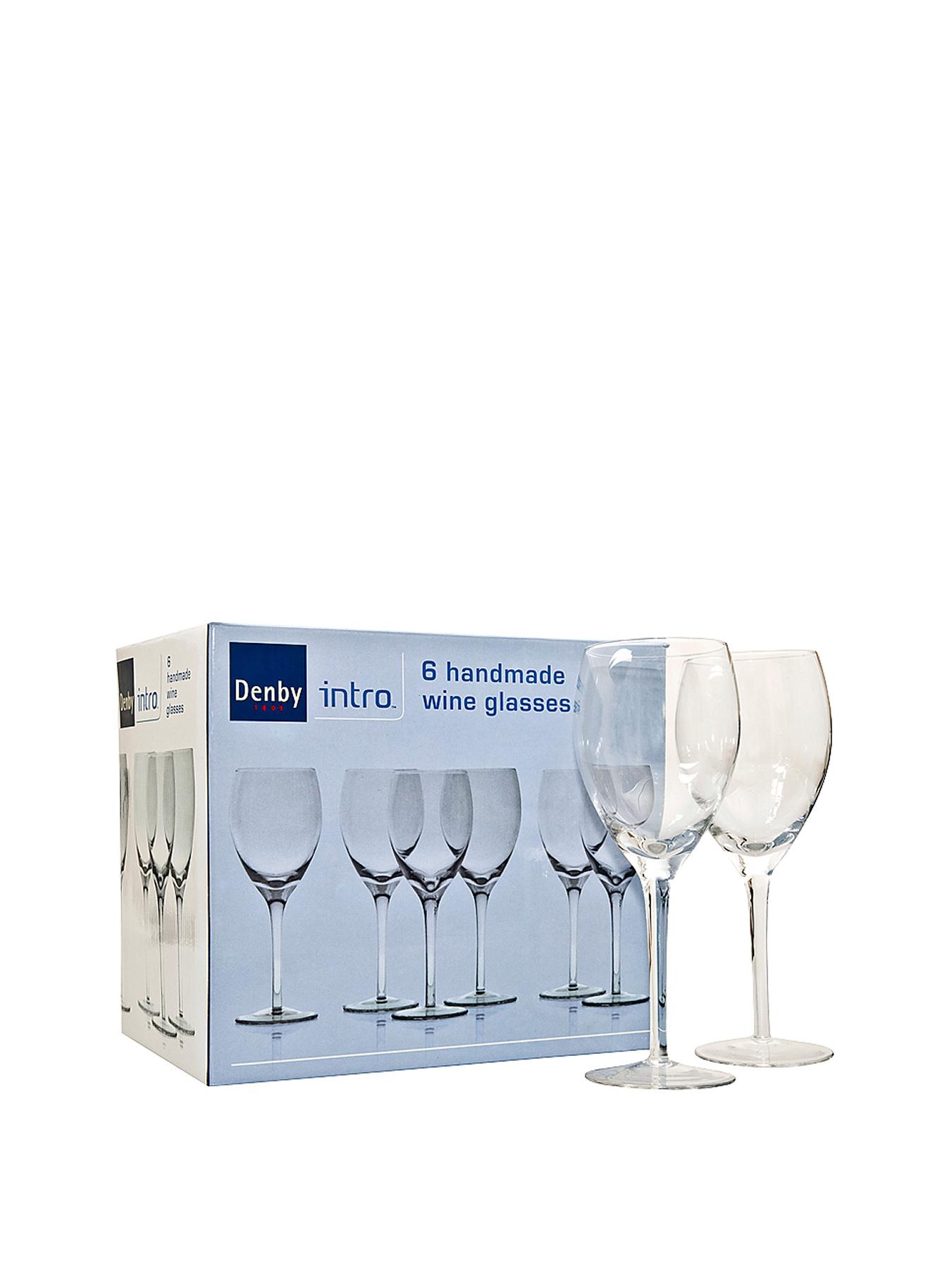 Denby Intro 6-Piece Wine Glasses