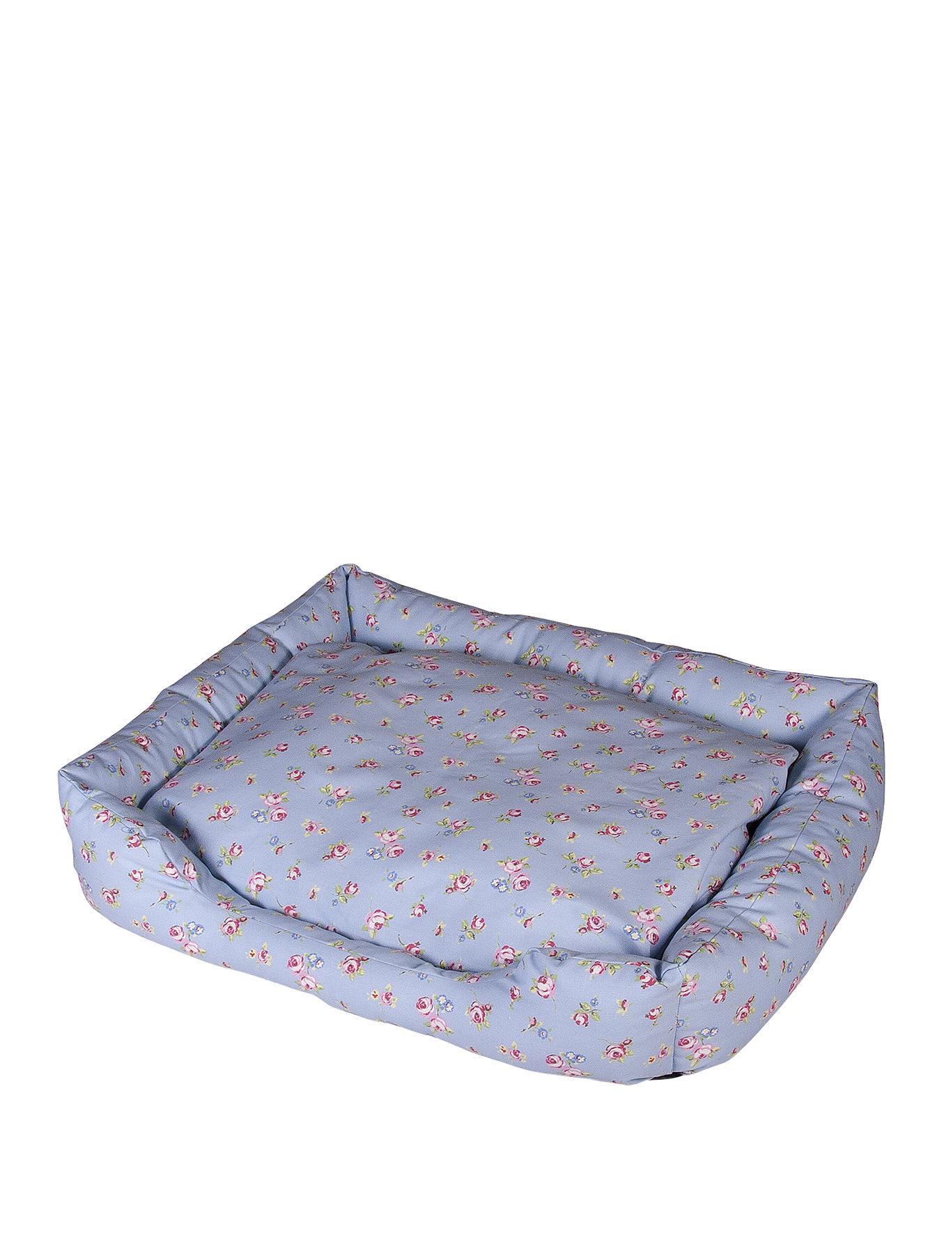 Floral Print Pet Bed