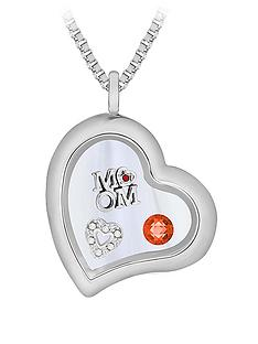 treasure-charms-silver-plated-285mm-heart-charm-locket-on-24-inch-box-chain