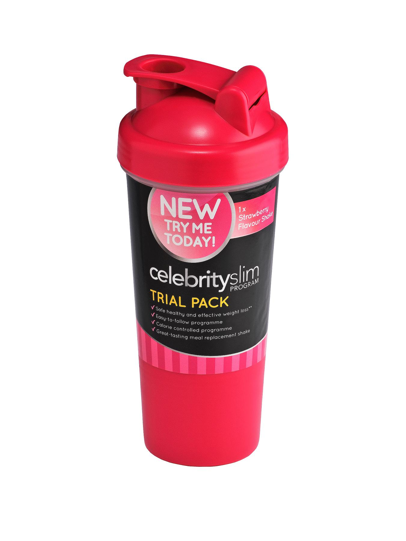 Celebrity Slim Trial Pack with Shaker