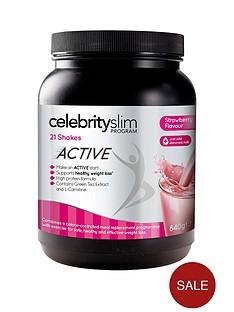 celebrity-slim-active-strawberry-shake-tub