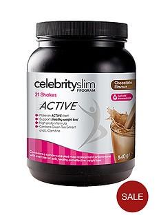 celebrity-slim-active-chocolate-shake-tub
