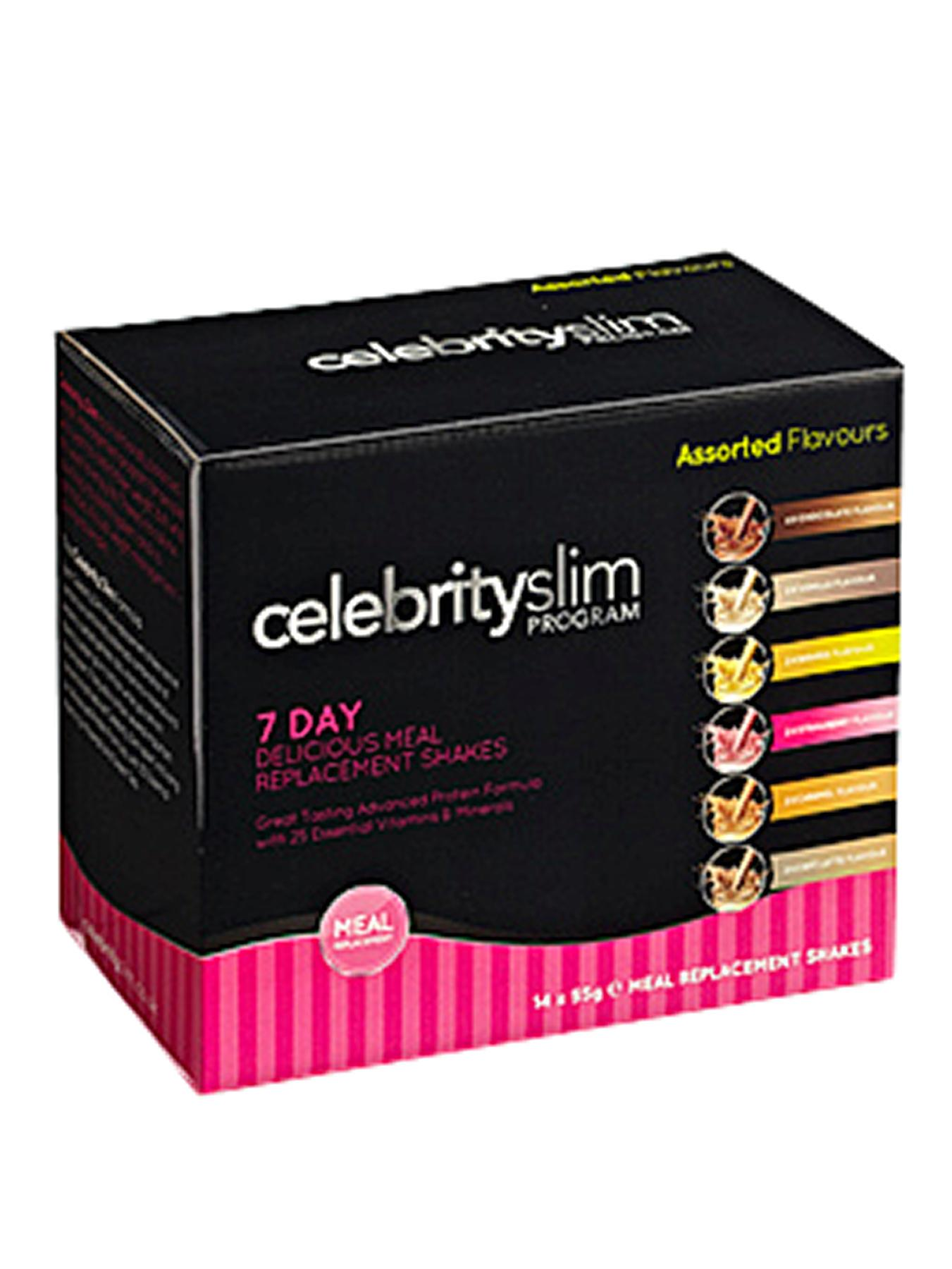 Celebrity Slim 7 Day Variety Shake Pack