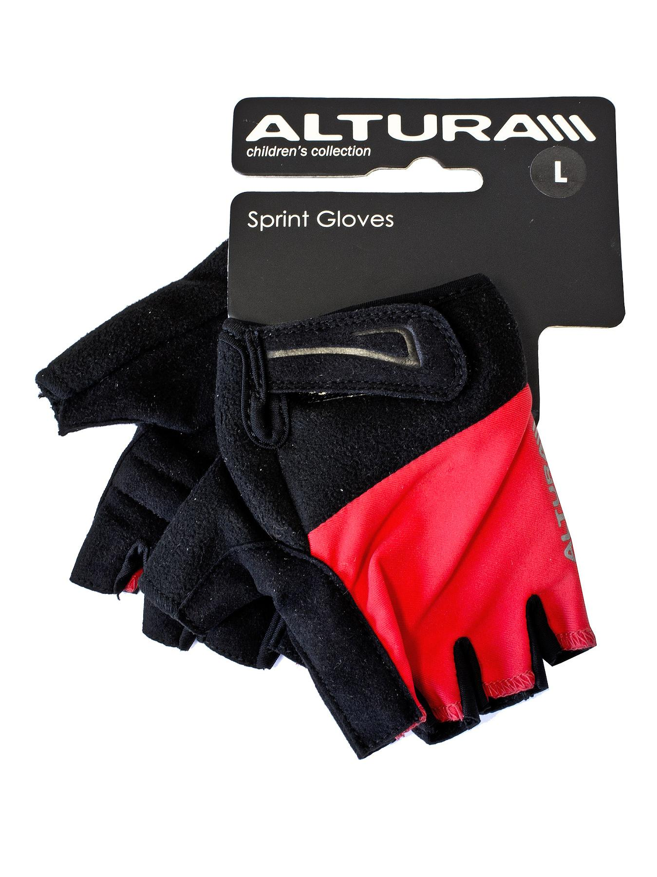 Altura Junior Sprint Mitts - Red, Red