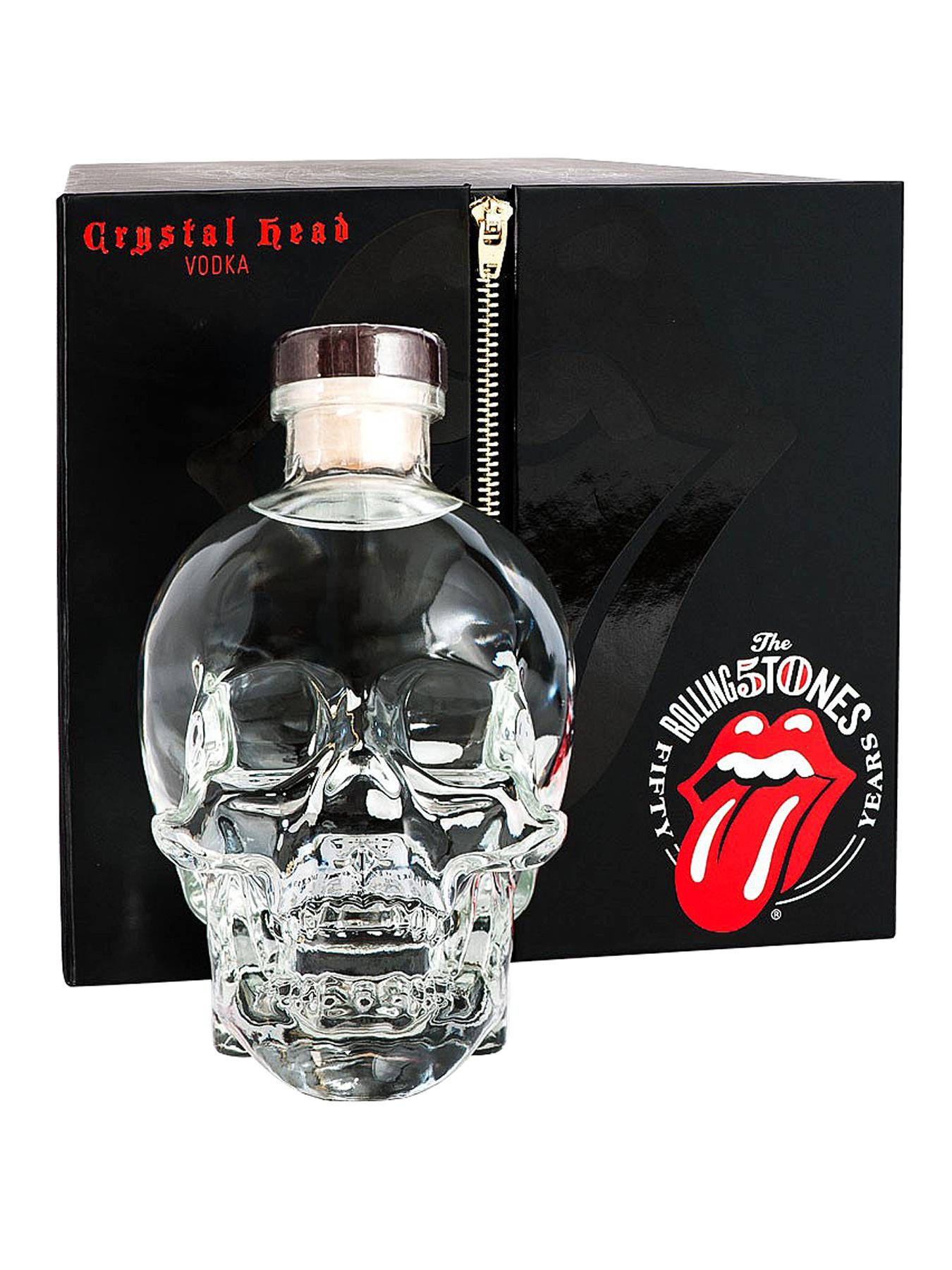 Crystal Head Vodka - Limited Edition Rolling Stones Pack