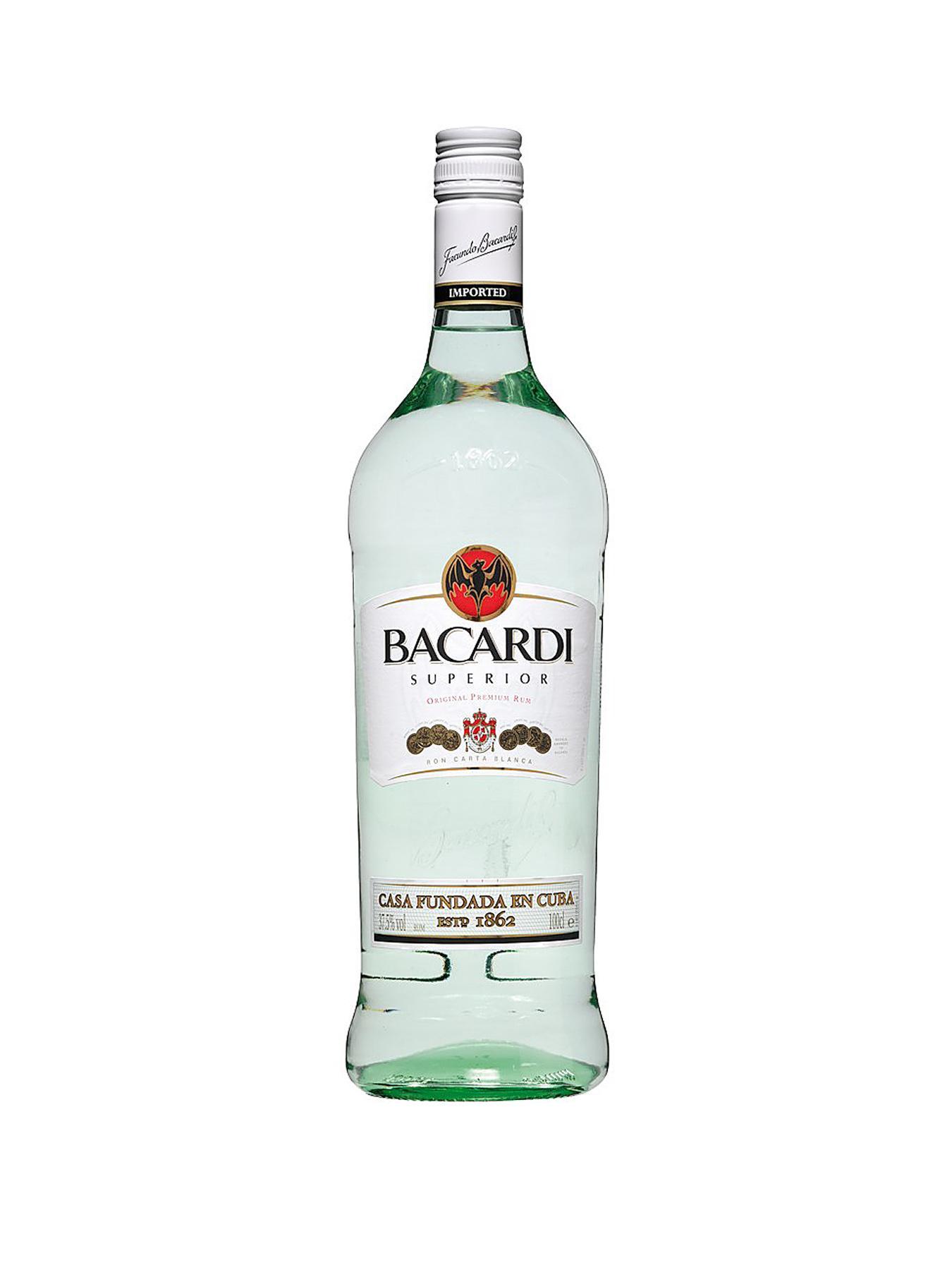 Bacardi Rum 1-Litre