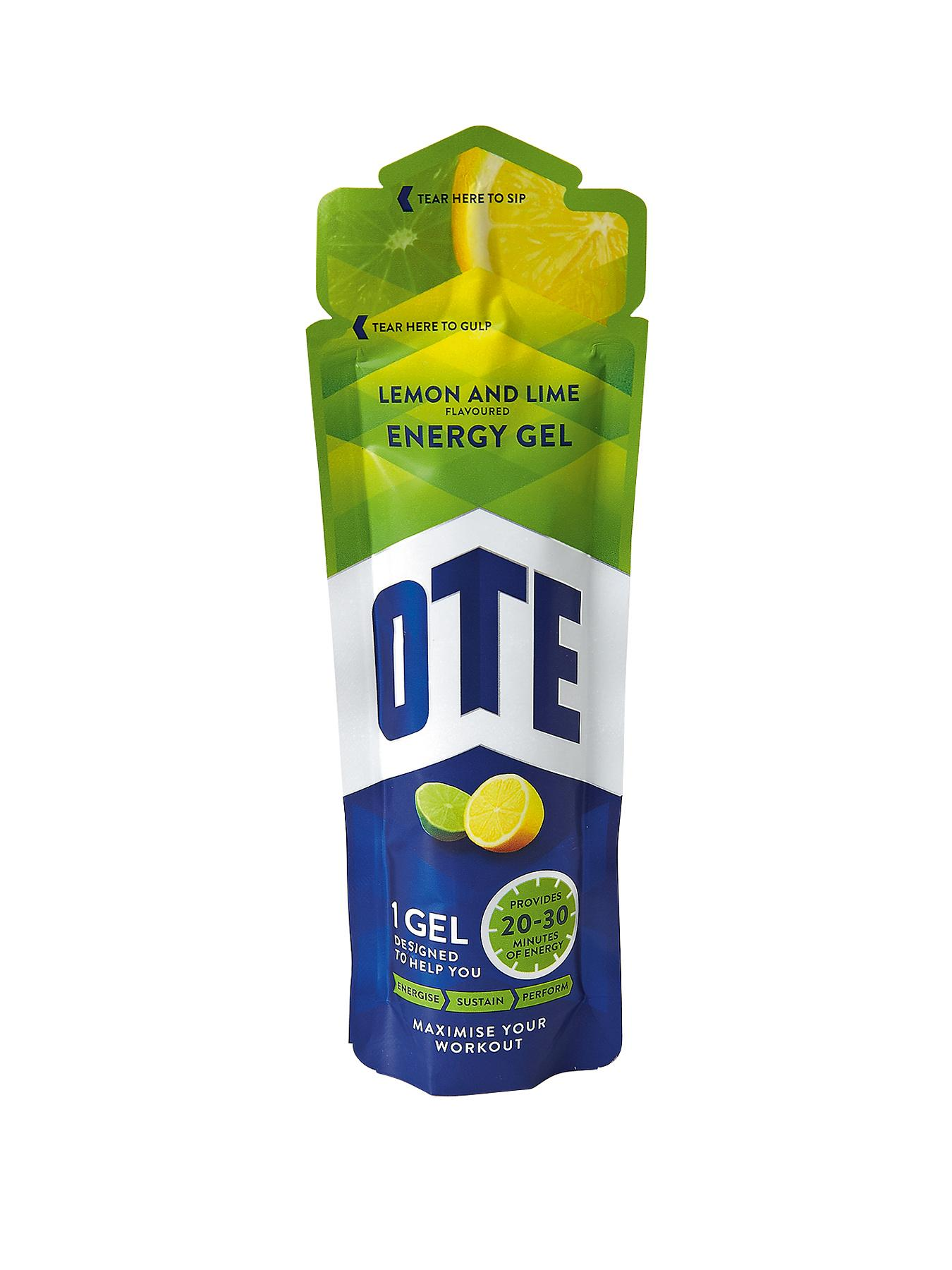 OTE 20 x 56g Energy Gel Sachets - Lemon and Lime Flavour at Very, from Littlewoods