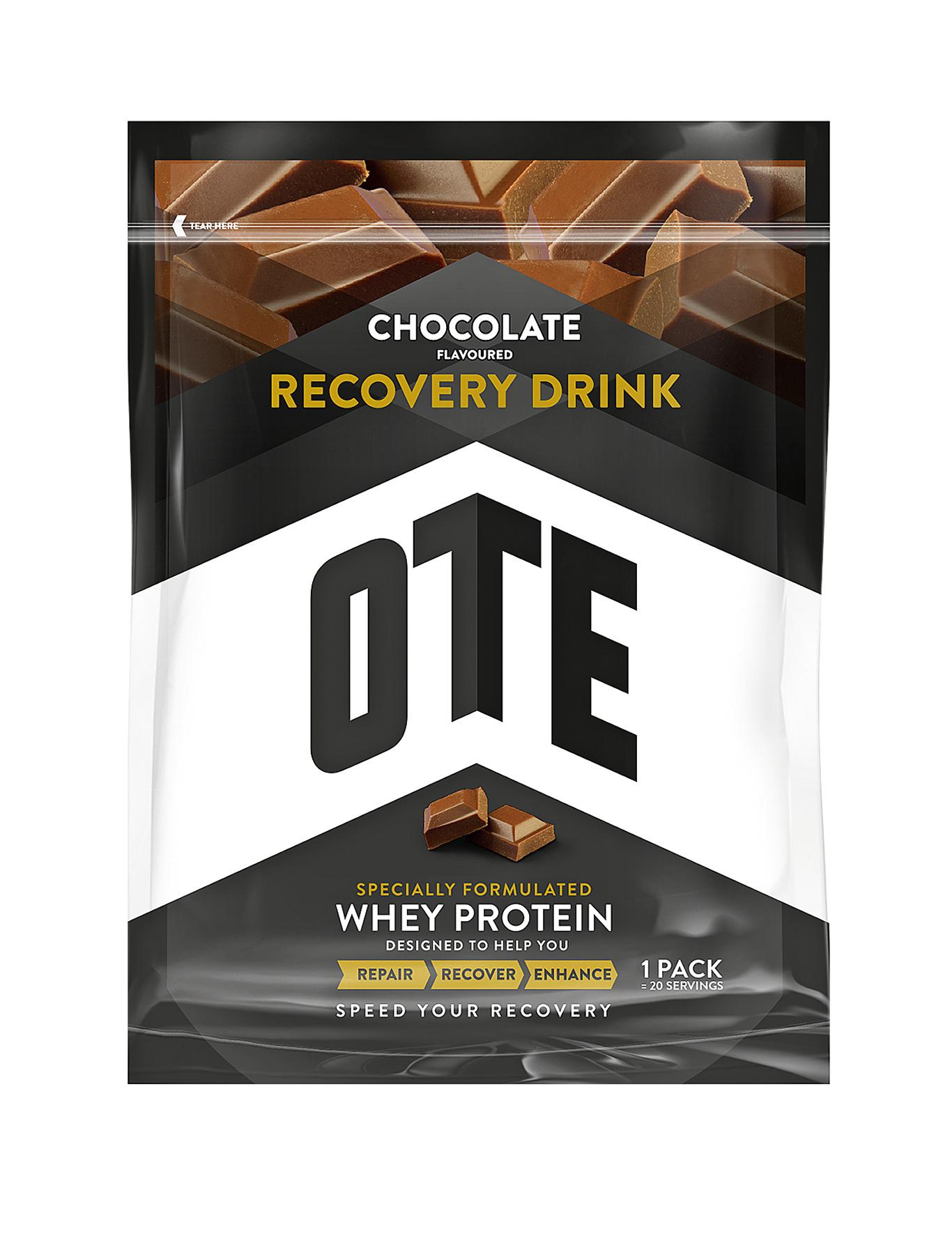 OTE 14 x 25g Whey Protein Recovery Drink - Chocolate Flavour