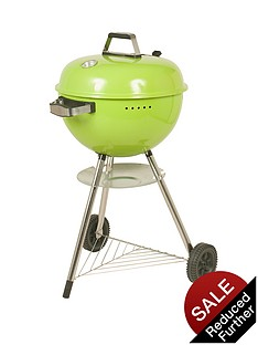 la-hacienda-deluxe-charcoal-kettle-bbq-green