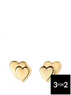 love-gold-9-carat-gold-heart-on-heart-earrings-in-red-heart-box