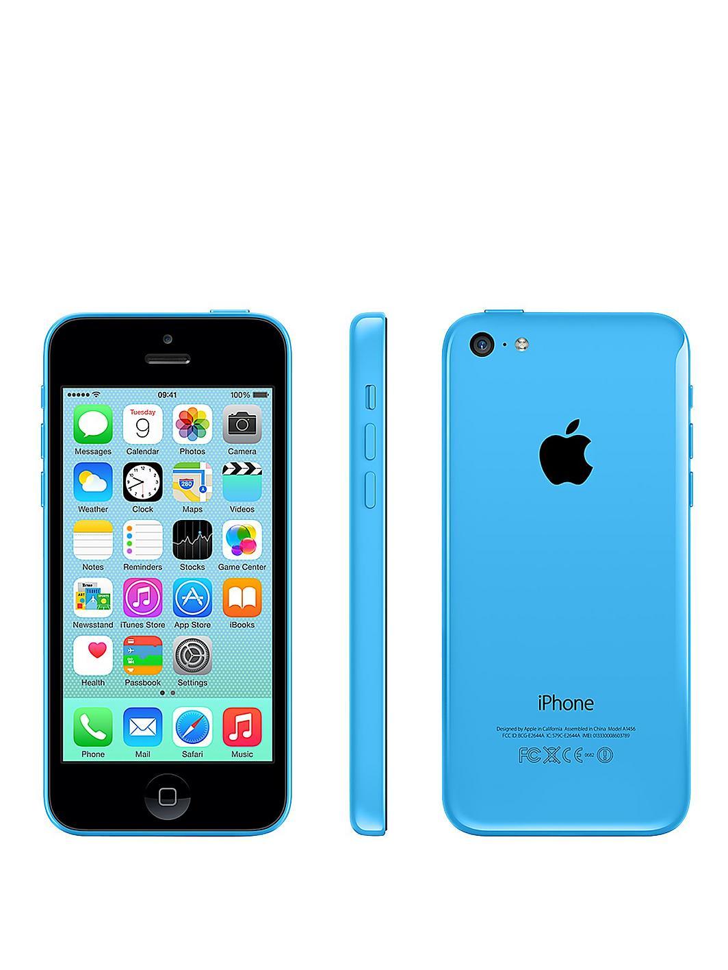 Apple Iphone 5c 8gb Blue Apple-iphone-5c-8gb