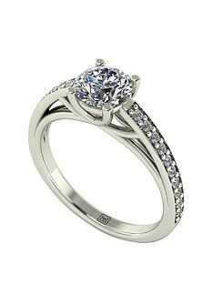 moissanite-premium-collection-9-carat-white-gold-120-carat-brilliant-cut-solitaire-with-stone-set-shoulders-ring