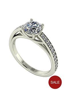 moissanite-premium-collection-9-carat-white-gold-120-carat-brilliant-cut-solitaire-with-stone-set-shoulders-ring