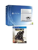 500GB White Console + Call of Duty: Advanced Warfare + FREE inFAMOUS Second Son & The Order: 1886