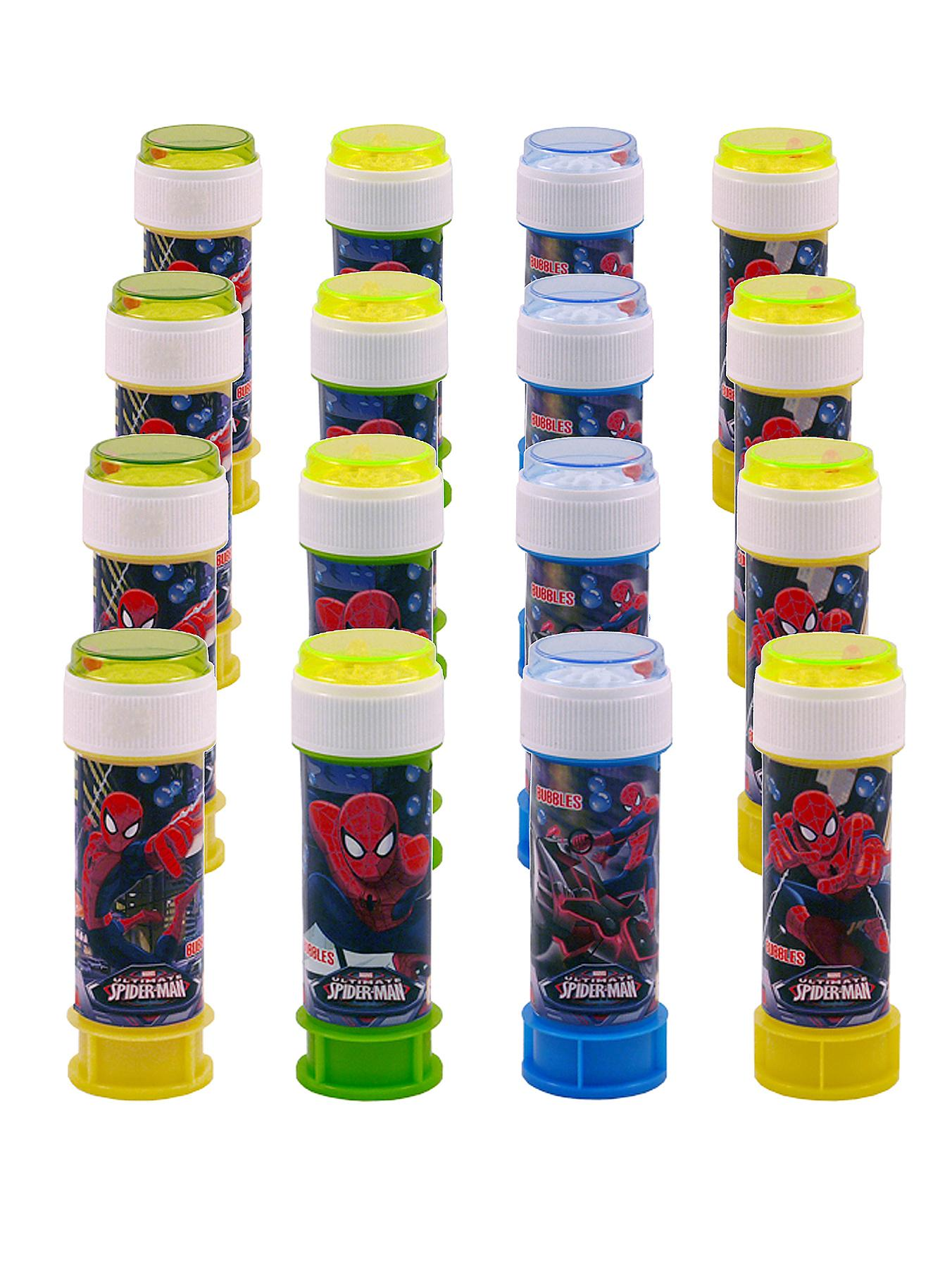 Spiderman 60ml Bubbles Tubs (Pack of 16)
