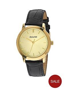accurist-tbc-lb1419s-champagne-coloured-dial-strap-mens-watch