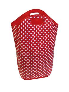 kids-polka-dot-laundry-hamper