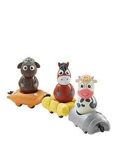 weebledown-farm-weebles-wobbly-figure-and-mini-vehicle-3-pack