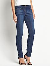 Petite High Rise Molly Skinny Jeans