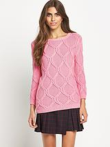 Nina Textured Knit Jumper