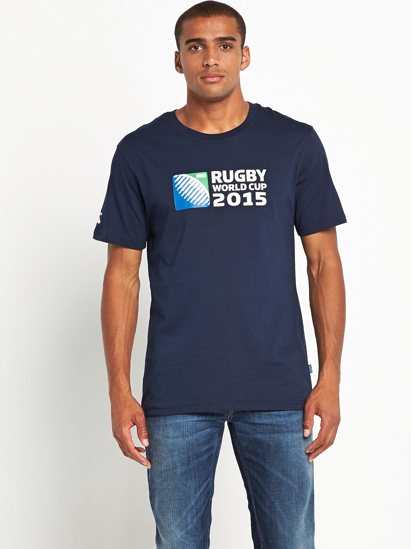Canterbury Mens 2015 Logo T-shirt - Navy, Navy