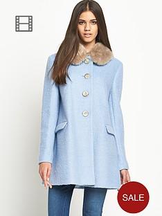 love-label-faux-fur-collar-dolly-coat