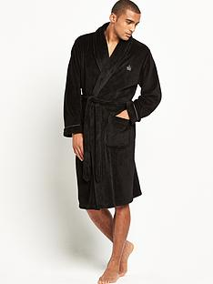 french-connection-mens-shawl-collar-robe