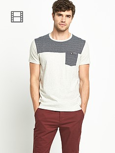 goodsouls-mens-jacquard-short-sleeve-neck-t-shirt