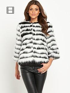 little-mistress-striped-faux-fur-jacket