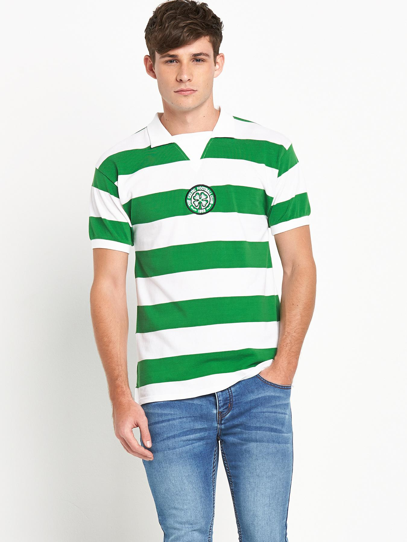 Celtic Mens 1978 Home Shirt - White, White