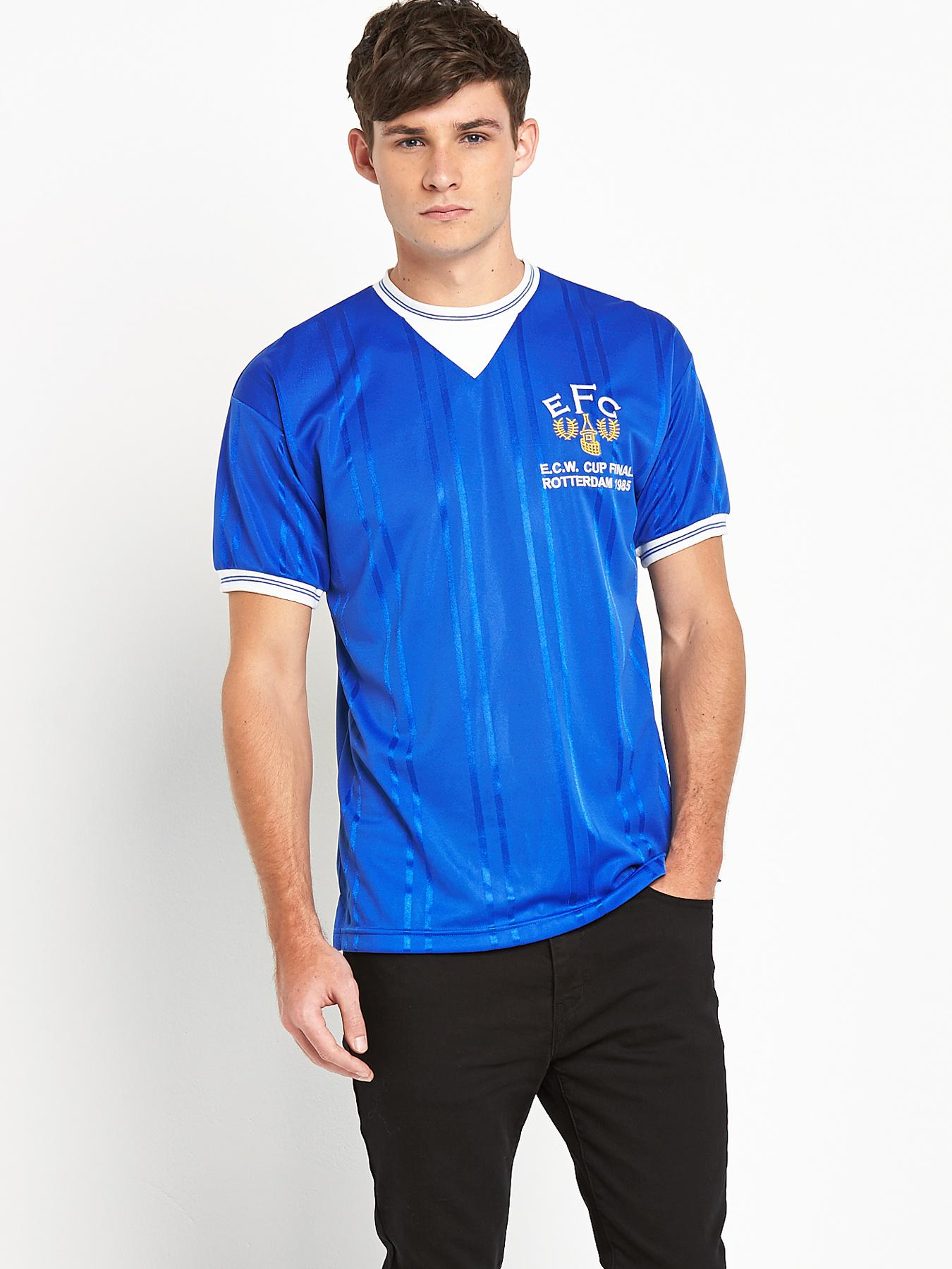 Everton Mens 1985 European Cup Winners Final Shirt