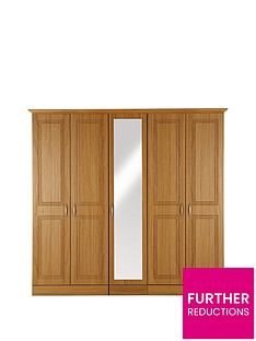 consort-dorchester-5-door-mirrored-wardrobe