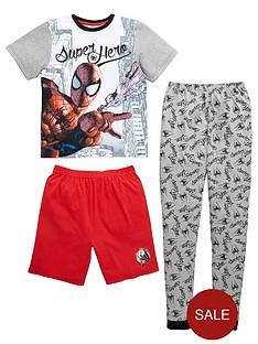 spiderman-super-hero-boys-pyjamas-set-3-piece