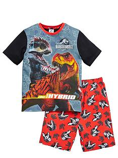jurassic-world-boys-short-pyjamas