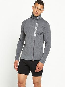 superdry-sport-runner-funnel-neck-top-grit-grey
