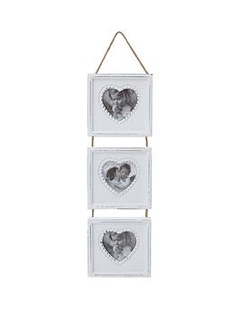 white-wood-triple-heart-hanging-photo-frame