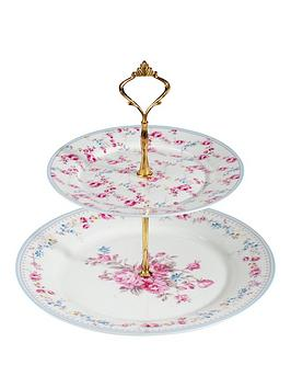 country-rose-cake-stand