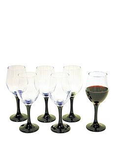 waterside-black-stem-wine-glasses-6pc
