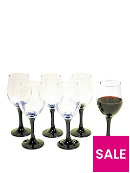 waterside-black-stem-wine-glasses-6pc