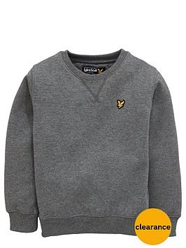 lyle-scott-crew-neck-sweat-top