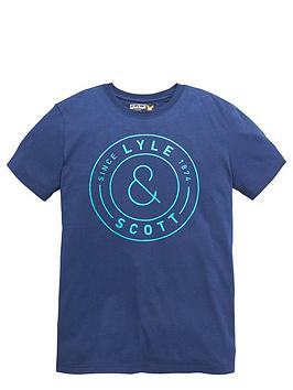 lyle-scott-ss-circular-logo-tee