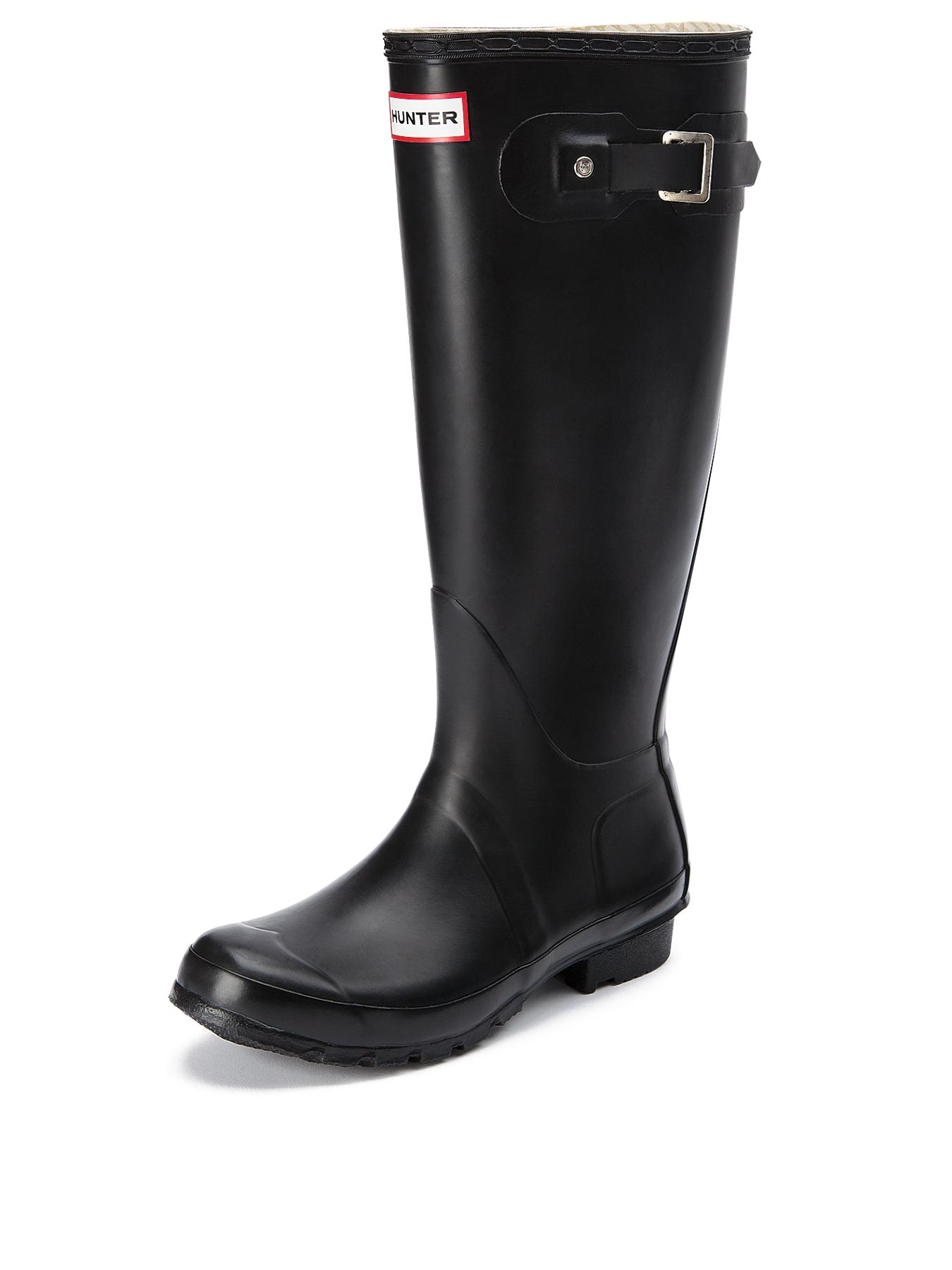 Hunter Original Tall Wellies - Black, Black