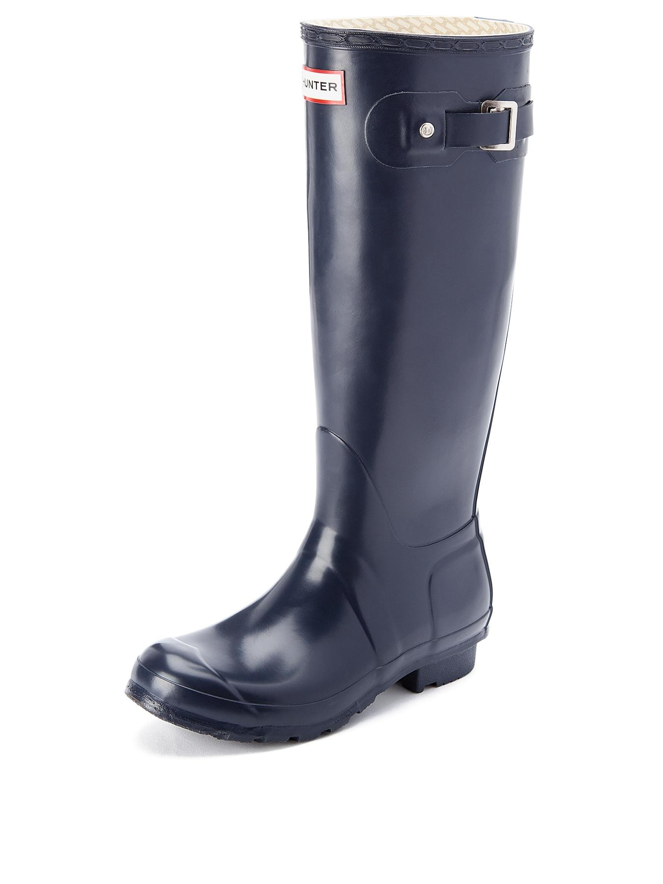 Hunter Original Tall Wellies - Navy - Navy, Navy