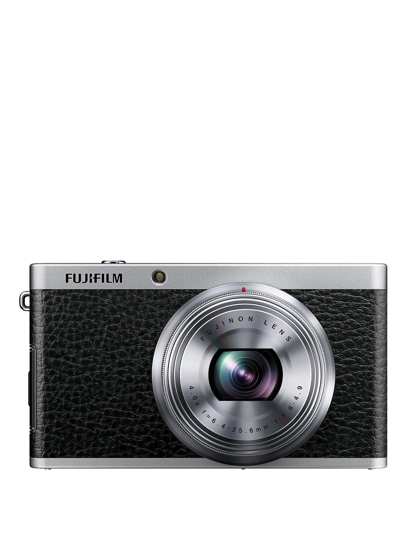 Fuji XF1 12 Megapixel Compact System Camera - Black