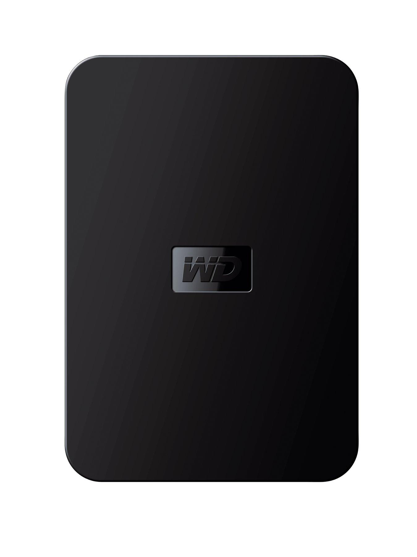 Western Digital Elements 500Gb Portable Hard Drive - Black