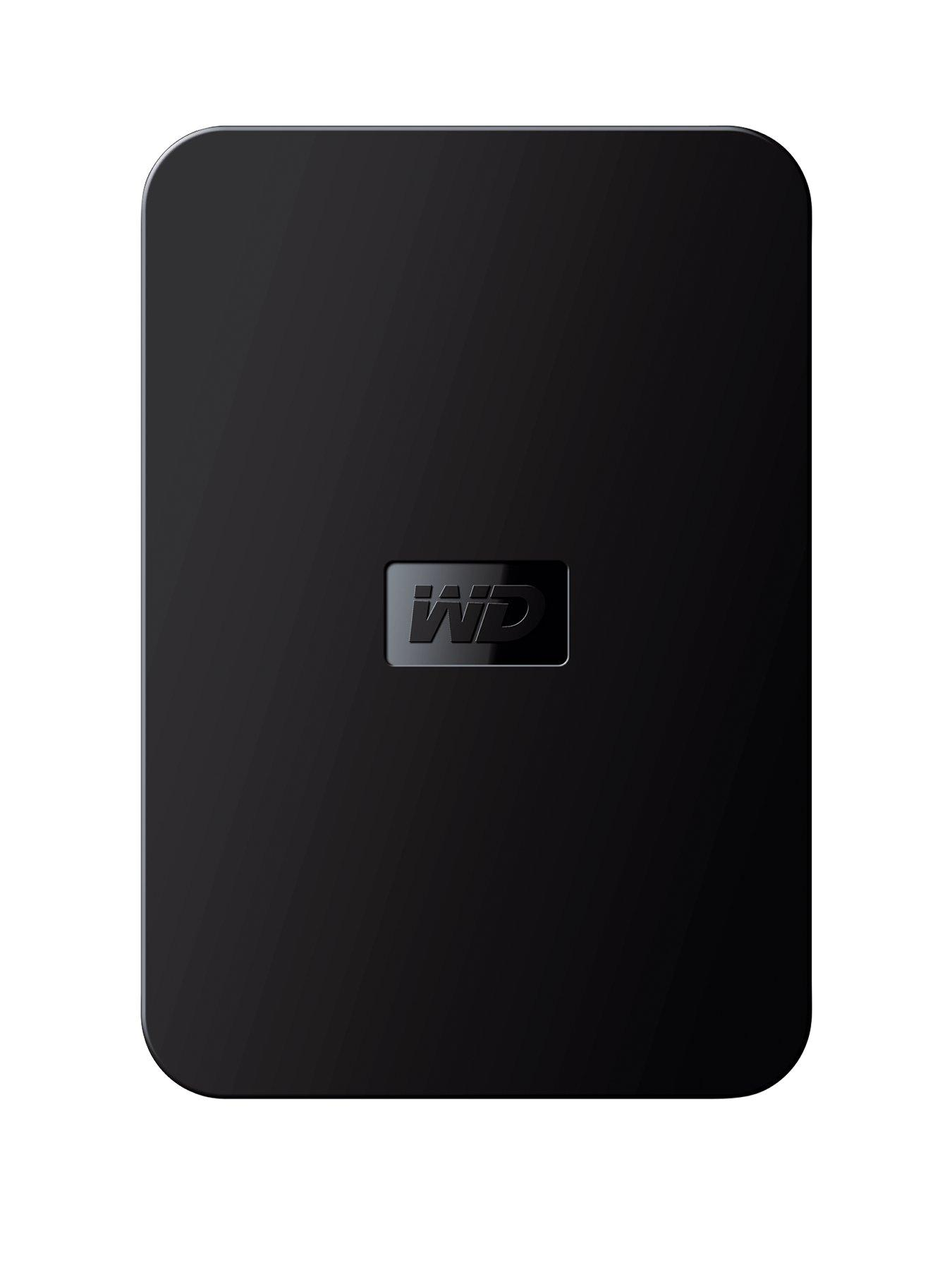 Western Digital Elements 1Tb Portable Hard Drive - Black