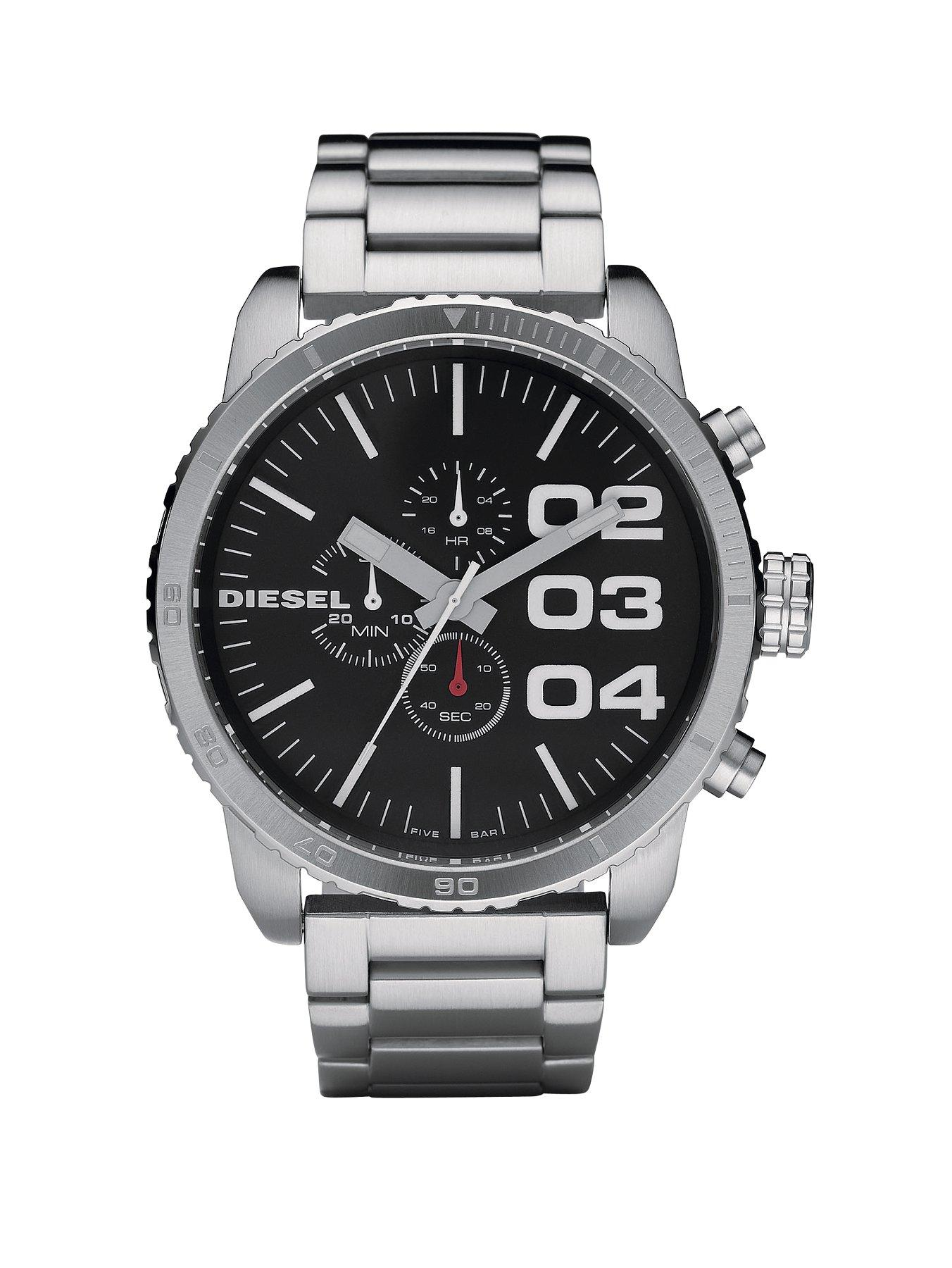 Diesel Franchise Silver Mens Bracelet Watch